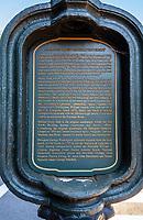 Georgetown University, Washington, DC., USA. Historic Marker.