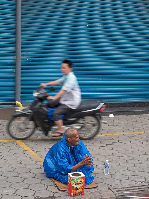 In the streets of Phnom Penh, Cambodia