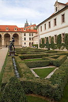 Wallenstein Gardens in the Old Town district , Prague in Czech Republic,