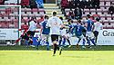 Pars' Faissal El Bakhtaoui (17) scores their winning goal.