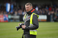 Stockport's official photographer during the Vanarama National League North match between Nuneaton Town and Stockport County at the Liberty Way Stadium, Nuneaton, England on 27 April 2019. Photo by James  Gill.