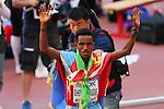 Ghirmay Ghebreslassie (ERI), <br /> AUGUST 22, 2015 - Marathon : <br /> 15th IAAF World Championships in Athletics Beijing 2015 <br /> Men's Marathon Final <br /> at Beijing National Stadium in Beijing, China. <br /> (Photo by YUTAKA/AFLO SPORT)