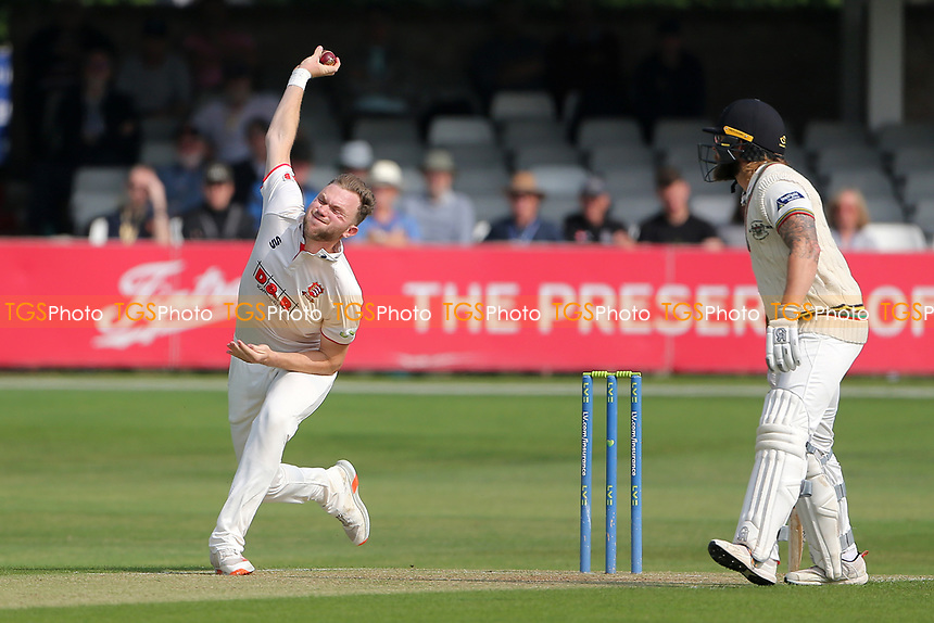 Sam Cook in bowling action for Essex during Essex CCC vs Gloucestershire CCC, LV Insurance County Championship Division 2 Cricket at The Cloudfm County Ground on 5th September 2021