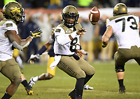 PHILADELPHIA, PA - DEC 14, 2019: Army Black Knights quarterback Kelvin Hopkins Jr. (8) runs the option during game between Army and Navy at Lincoln Financial Field in Philadelphia, PA. The Midshipmen defeated Army 31-7. (Photo by Phil Peters/Media Images International)
