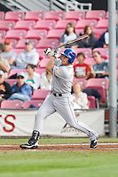 July 8, 2009: Tri-City Dust Devils' Kevin Clark at-bat during a Northwest League game against the Salem-Keizer Volcanoes at Volcanoes Stadium in Salem, Oregon.