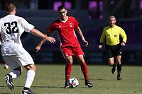 Orlando, Florida - Wednesday January 17, 2018: Giovanni Godoy. Match Day 3 of the 2018 adidas MLS Player Combine was held Orlando City Stadium.
