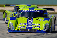 #75 Krohn Racing Pontiac/Riley