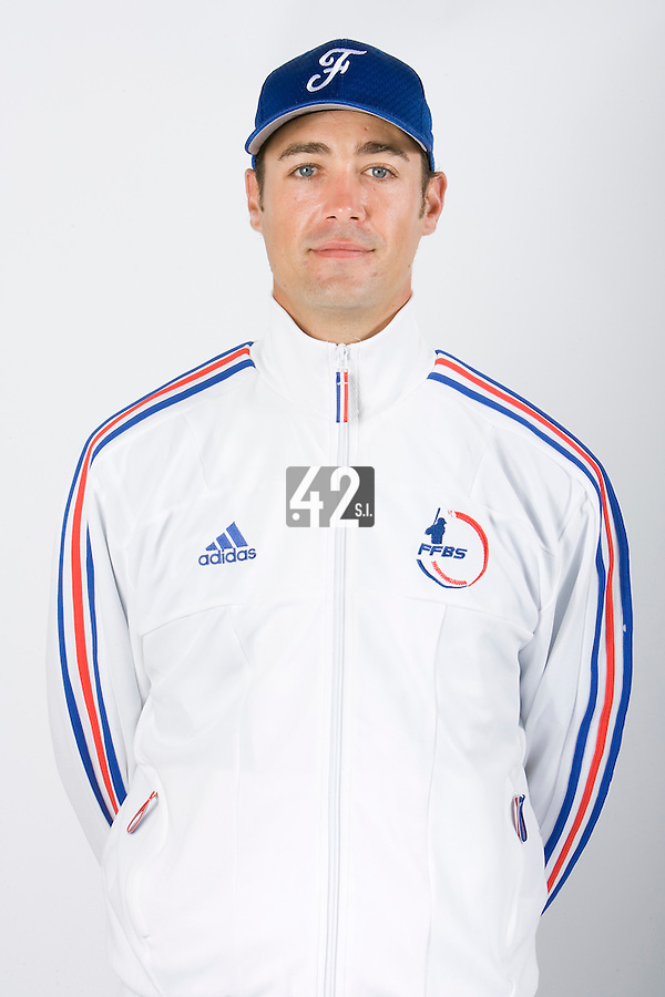15 Aug 2007: Jerome Rousseau - Team France Baseball