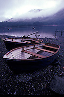 Beached rowboats<br />