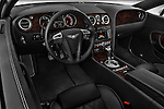 High angle dashboard view of a  2008 - 2012 Bentley Continental GT Speed Coupe.