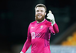 St Johnstone v St Mirren….27.03.19   McDiarmid Park   SPFL<br />A thums up from penalty save hero Zander Clark<br />Picture by Graeme Hart. <br />Copyright Perthshire Picture Agency<br />Tel: 01738 623350  Mobile: 07990 594431