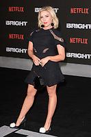 "Gabby Allen<br /> arriving for the ""Bright"" European premiere at the BFI South Bank, London<br /> <br /> <br /> ©Ash Knotek  D3364  15/12/2017"