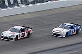 #20: Harrison Burton, Joe Gibbs Racing, Toyota Supra Fields/DEX Imaging, #07: David Starr, SS Green Light Racing, Chevrolet Camaro Jacob Construction