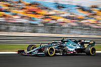 8th October 2021; Formula 1 Turkish Grand Prix 2021 free practise at the Istanbul Park Circuit, Istanbul;  VETTEL Sebastian ger, Aston Martin F1 AMR21