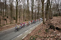 the breakaway group up La Houppe<br /> <br /> 64th E3 Classic 2021 (1.UWT)<br /> 1 day race from Harelbeke to Harelbeke (BEL/204km)<br /> <br /> ©kramon