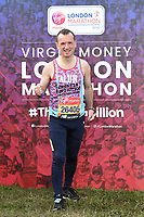 Alun Cairns<br /> at the start of the London Marathon 2019, Greenwich, London<br /> <br /> ©Ash Knotek  D3496  28/04/2019