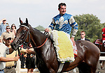 8 August 2009: DYNAFORCE with jockey Kent Desormeaux after winning the 20th running of the G1 Beverly D. at Arlington Park in Arlington Heights, Illinois.