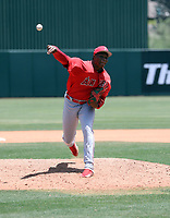 William Holmes / William English - Los Angeles Angels 2019 extended spring training (Bill Mitchell)