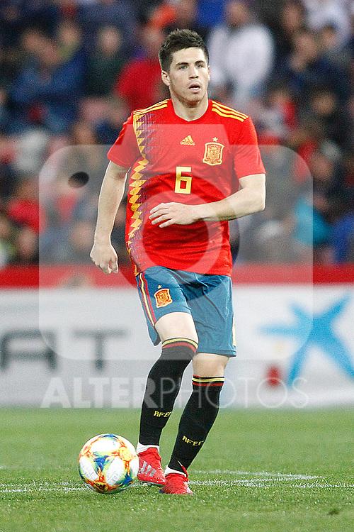 Spain's Igor Zubeldia   during the International Friendly match on 21th March, 2019 in Granada, Spain. (ALTERPHOTOS/Alconada)