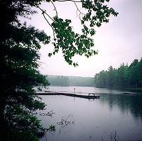 Dock in the lake<br />