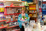The End Of An Era <br /> Last Saturday was a sad day for the people of Abbeyfeale as Ann Lyons's Shop closed it's doors for the final time. The very popular Ann who sadly passed away very recently ran her little shop in the Square for the past 41years and for 36 of those years was assisted by Mary Flynn. <br /> The very welcoming Ann Lyons was renowned for the array of sweets & treats that could be bought in her shop ie. boiled, blackjack, cola bottles, slab toffee etc, etc Over the weekend parents & children have been queuing outside Ann's shop to buy the final tasty treat and to wish Mary Flynn ever best wishes, some presenting her with flowers and gifts. <br /> Ann Lyons's Shop was a place that made every child happy and also those of us adults with a sweet tooth. <br /> The Square will never look or be the same again without Ann and her lovely shop . May she rest in peace. P.W. <br /> <br /> Mary Flynn <br /> Mary Flynn pictured last Saturday on her final day at Ann Lyons's Shop , Mary spent the past 36 years in the shop assisting Ann.
