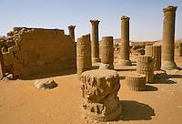 - northern Sudan , Meroitic civilization , temples of Muswarat....- Sudan settentrionale, civiltà Meroitica, templi di Muswarat