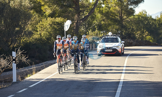 Trek–Segafredo 2021 mens and womens team during their winter training camp. 18th January 2021.<br /> Picture: Oliver Grenaa/Trek Factory Racing | Cyclefile<br /> <br /> All photos usage must carry mandatory copyright credit (© Cyclefile | Oliver Grenaa/Trek Factory Racing)