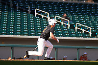 Eric Grintz (13) of DOWNINGTOWN  WEST High School in Glenmoore, Pennsylvania during the Under Armour All-American Pre-Season Tournament presented by Baseball Factory on January 14, 2017 at Sloan Park in Mesa, Arizona.  (Freek Bouw/MJP/Four Seam Images)