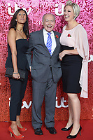 Manali Luka, Alistair Stear and Becky Mantin<br /> at the ITV Gala 2017 held at the London Palladium, London<br /> <br /> <br /> ©Ash Knotek  D3349  09/11/2017