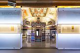 Die Ausstellungsräume des neuen Jüdischen Museums in Warschau.