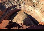 Sulfur Creek Gooseneck, Panorama Point, Capitol Reef National Park, Utah