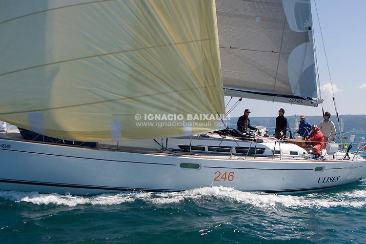ESP 7741 ULISES SEIS José Antonio de Tomás y Alonso SUN ODYSSEY 49 Puerto Tomás Maestre<br /> Salida de la 22 Ruta de la Sal 2009 Versión Este, Denia, Alicante, España