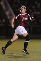 Stanford, CA - SEPTEMBER 12:  Defender Allison Falk #4 of the Stanford Cardinal during Stanford's 1-1 tie against the North Carolina Tar Heels in the Stanford/Nike Invitational on September 12, 2008 at Laird Q. Cagan Stadium in Stanford, California.