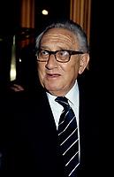ex-secrétaire d'etat americain Henry Kissinger,<br /> a la conference de Montreal <br /> , le 10 juin 1996, <br /> a hotel Reine Elizabeth<br /> <br /> PHOTO : Agence Quebec Presse - Pierre Roussel