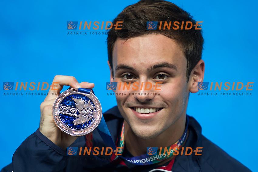 DALEY Thomas GBR bronze medal<br /> Diving - Men's 10m Platform final<br /> Day 10 02/08/2015<br /> XVI FINA World Championships Aquatics Swimming<br /> Kazan Tatarstan RUS July 24 - Aug. 9 2015 <br /> Photo Giorgio Perottino/Deepbluemedia/Insidefoto
