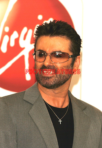 """George Michael makes an In-Store Appearance for New CD """"Patience"""" at the Virgin Megastore in Hollywood, May 21st 2004."""