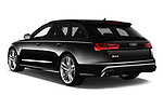Car pictures of rear three quarter view of a 2019 Audi RS 6 Avant Base 5 Door Wagon angular rear