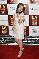 Alessandra Mastronardi at Film Independent's 2012 Los Angeles Film Festival Premiere of 'To Rome With Love' at Regal Cinemas L.A. LIVE Stadium 14 on June 14, 2012 in Los Angeles, California. ©mpi21/MediaPunch Inc. NORTEPHOTO.COM<br /> NORTEPHOTO.COM<br /> *credito*obligatorio*<br /> *SOLO*VENTA*EN*MEXICO*