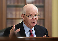 United States Senator Ben Cardin (Democrat of Maryland) speaks at the US Senate Small Business and Entrepreneurship Hearings to examine implementation of Title I of the CARES Act on Capitol Hill in Washington, DC on Wednesday, June 10, 2020. <br /> Credit: Kevin Dietsch / Pool via CNP/AdMedia