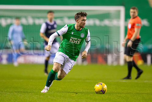 15th November 2020; Easter Road, Edinburgh, Scotland; Scottish League Cup Football, Hibernian versus Dundee FC; Stevie Mallan of Hibernian