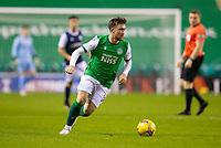 15th November 2020; Easter Road, Edinburgh, Scotland; Scottish League Cup Football, Hibernian versus Dundee FC; Stevie Mallan of Hibernian