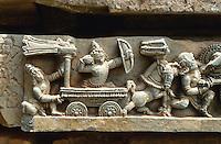 Kedareshvara Tempel (Hoysalazeit), Halebid, Karnataka, Indien
