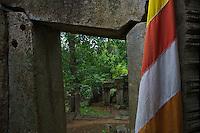 Aek Phnom Angkorian Temple, 11th Century Battambang Cambodia,