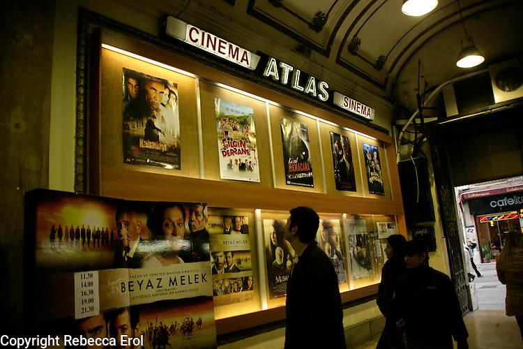 Atlas cinema on Istiklal Street in Beyoglu, Istanbul, Turkey
