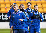 St Johnstone Training...21.05.21<br />David Wotherspoon, Stevie May and Craig Conway pictured during training at McDiarmid Park this morning ahead of tomorrow's Scottish Cup Final against Hibs.<br />Picture by Graeme Hart.<br />Copyright Perthshire Picture Agency<br />Tel: 01738 623350  Mobile: 07990 594431