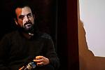 Spanish film director Nacho Vigalondo attends the Fun & Serious Game festival presentation. (ALTERPHOTOS/Victor Blanco)