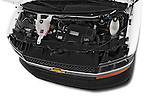 Car stock 2014 Chevrolet Express 2500 LS 2 Door Van engine high angle detail view