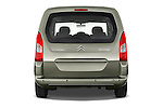 Straight rear view of a 2008 - 2014 Citroen BERLINGO Multispace 5-Door Mini Mpv 2WD
