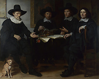 Full title: Group Portrait<br /> Artist: Gerbrand van den Eeckhout<br /> Date made: 1657<br /> Source: http://www.nationalgalleryimages.co.uk/<br /> Contact: picture.library@nationalgallery.co.uk<br /> <br /> Copyright © The National Gallery, London
