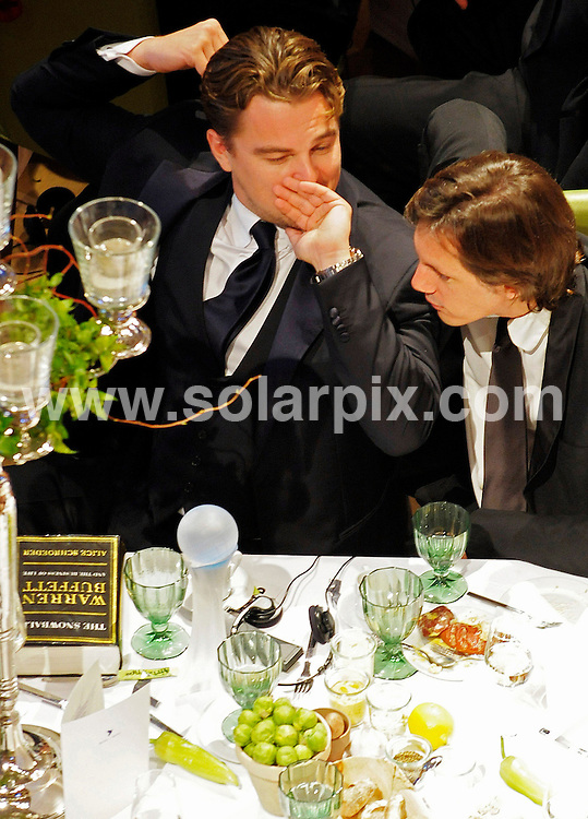 **ALL ROUND PICTURES FROM SOLARPIX.COM**.**SYNDICATION RIGHTS FOR UK AND SPAIN ONLY**.Cinema for Peace Gala 2009 at the Benefit Gala in Berlin...This pic:Leonardo DiCaprio..JOB REF: 8438        CPR/Gottshal        DATE:09.02.09.**MUST CREDIT SOLARPIX.COM OR DOUBLE FEE WILL BE CHARGED**.**ONLINE USAGE FEE  GBP 50.00 PER PICTURE - NOTIFICATION OF USAGE TO PHOTO @ SOLARPIX.COM**
